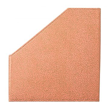 Magazine File – Blush Pink Starburst Dots