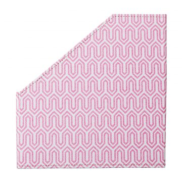 Magazine File – Pink Graphic Geometric