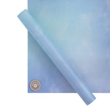 Bundle of 3 Items: Blue Pastel Wallpaper Starter Pack, Faux Fur Carpet & 6 Locker Door Message Magnets (15% reduction as a Bundle)